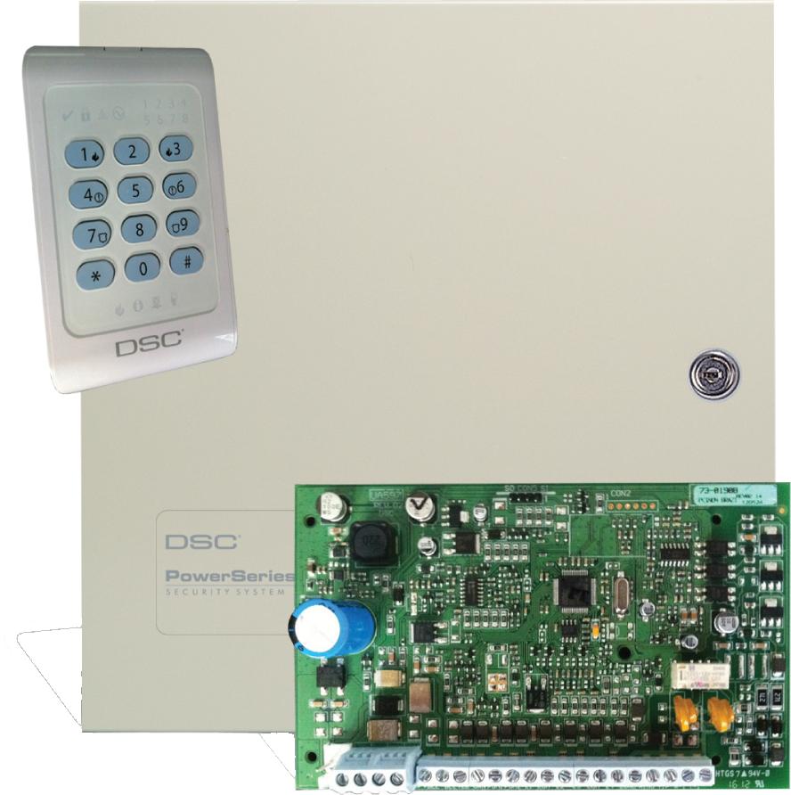 DSC PC1404   Control Panel With Keypad PC1404RKZ - Hills