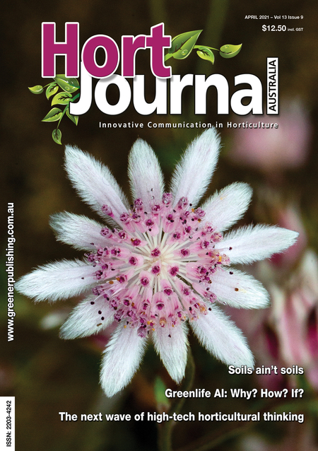 Cover of Hort Journal Australia April 2021