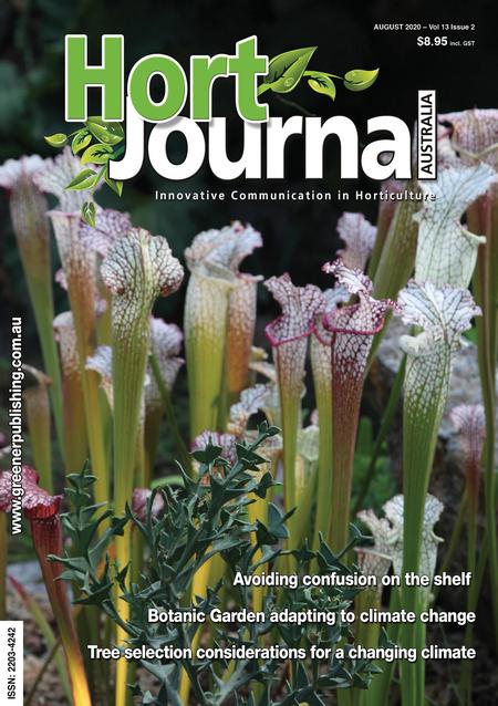 Cover of Hort Journal Australia August 2020