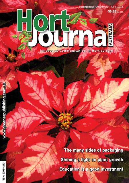 Cover of Hort Journal Australia December 2020