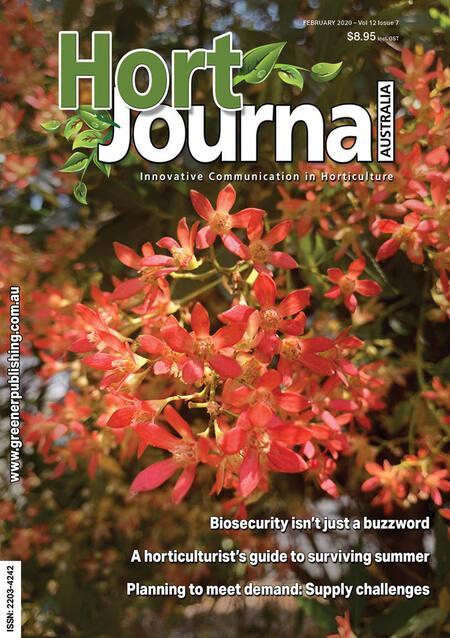 Cover of Hort Journal Australia February 2020