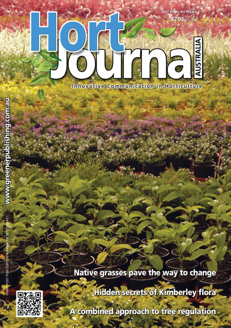 Cover of Hort Journal Australia July 2012