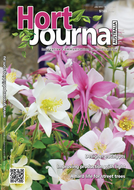 Cover of Hort Journal Australia July 2013