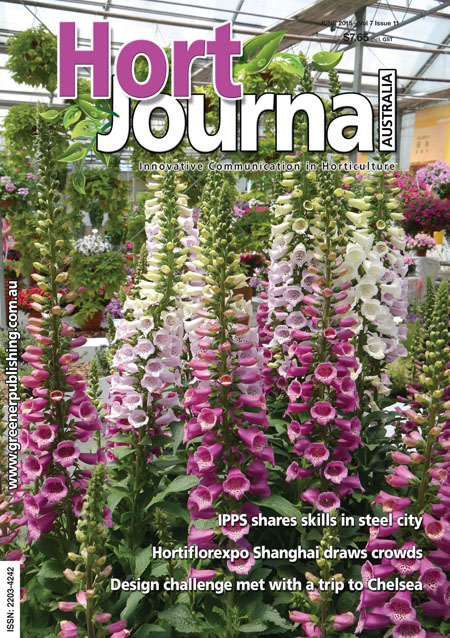Cover of Hort Journal Australia June 2015