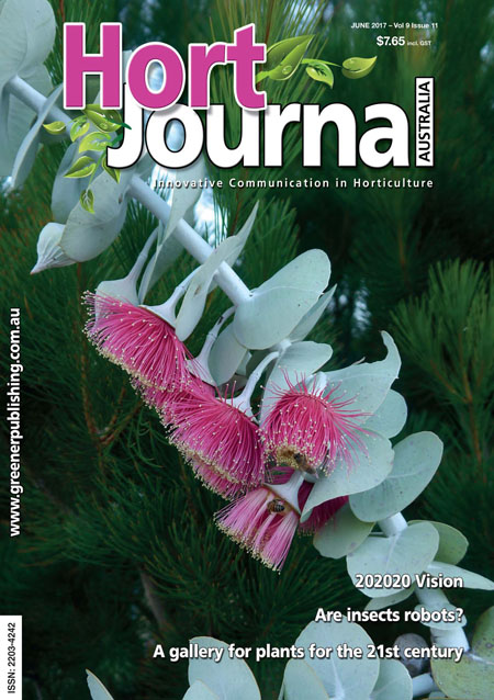 Cover of Hort Journal Australia June 2017