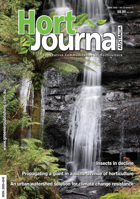 Cover of Hort Journal Australia June 2020