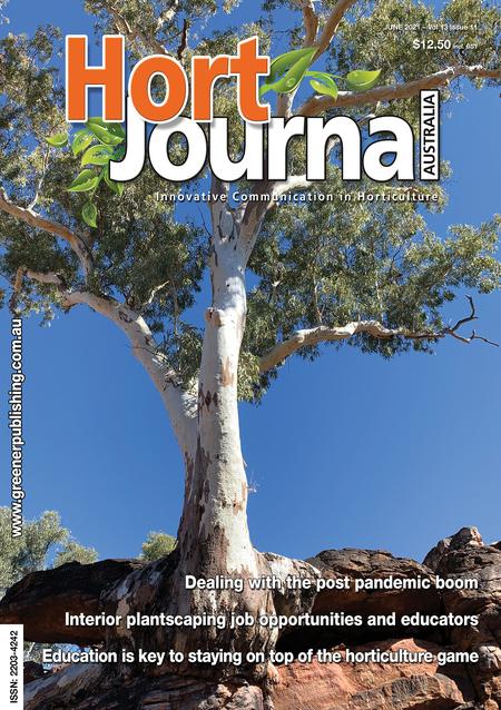 Cover of Hort Journal Australia June 2021