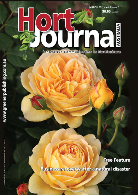 Cover of Hort Journal Australia March 2011
