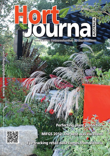 Cover of Hort Journal Australia May 2012