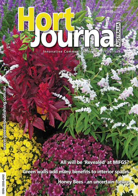 Cover of Hort Journal Australia May 2017