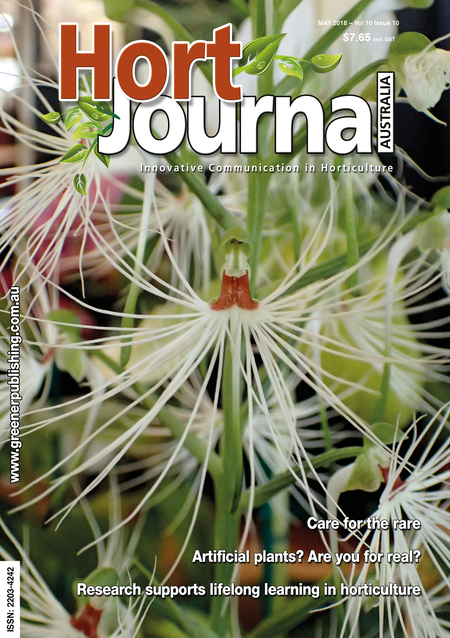Cover of Hort Journal Australia May 2018