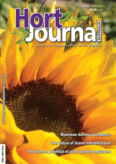 Cover of Hort Journal Australia May 2020