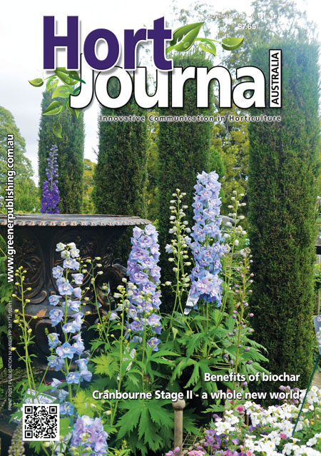 Cover of Hort Journal Australia November 2012