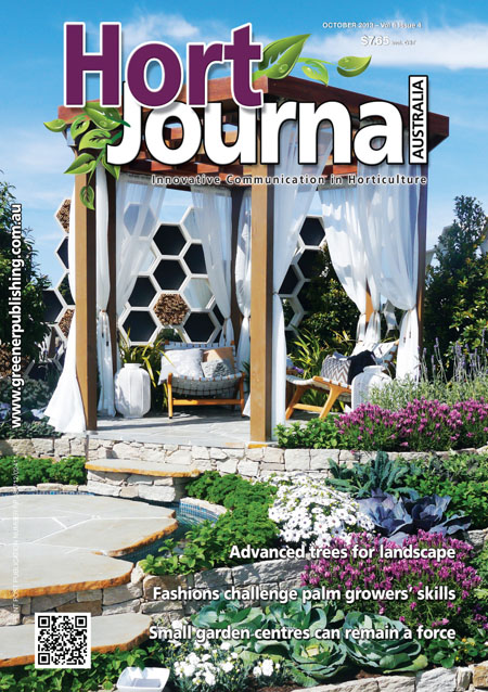 Cover of Hort Journal Australia October 2013