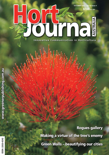 Cover of Hort Journal Australia October 2017