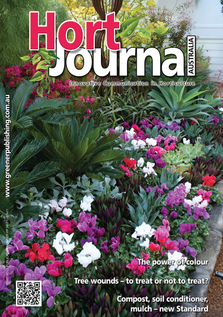 Cover of Hort Journal Australia September 2012