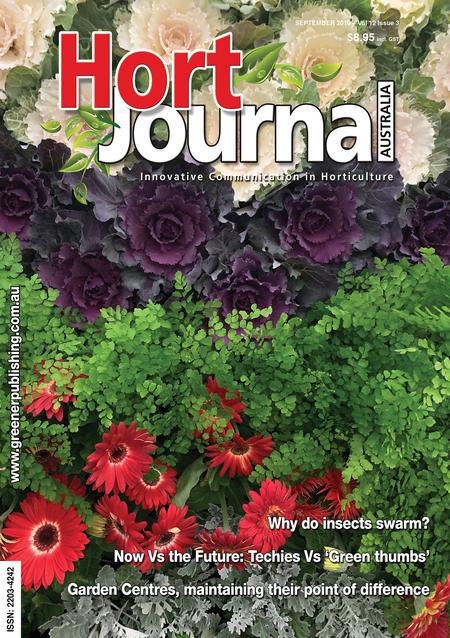 Cover of Hort Journal Australia September 2019