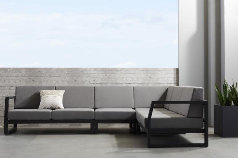 Haven 3 Piece Outdoor Modular Sofa Domayne