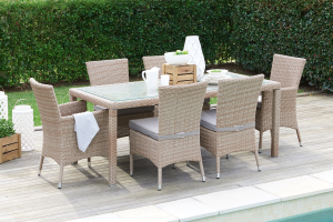 Seven Piece Dining Setting