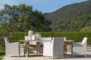 Casa Seven Piece Outdoor Dining Setting