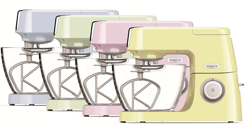 Kenwood Chef Sense all 4 colours.