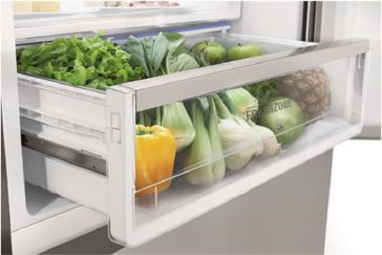 The FreshPlus Fridge's FreshZone crisper drawer