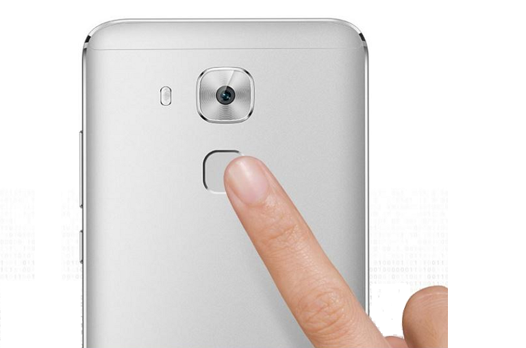 Using the huawei nova plus's fingerprint scanner