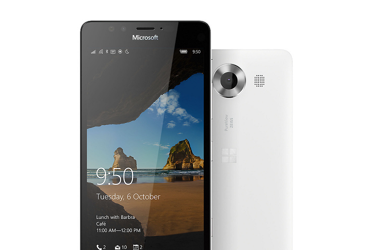 Lumia 950 Wireless Charging