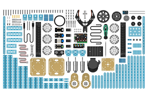 Parts of Makeblock robot