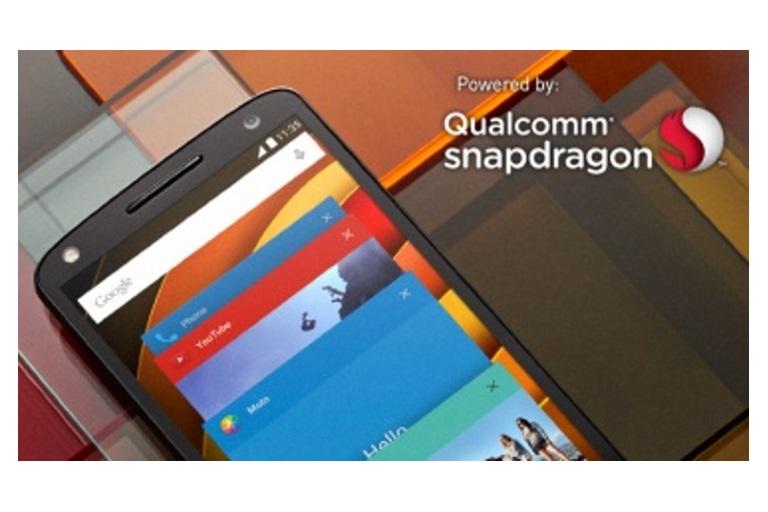 Multitasking/Snapdragon logo diagram