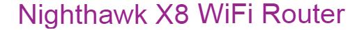 Nighthawk X8 logo.