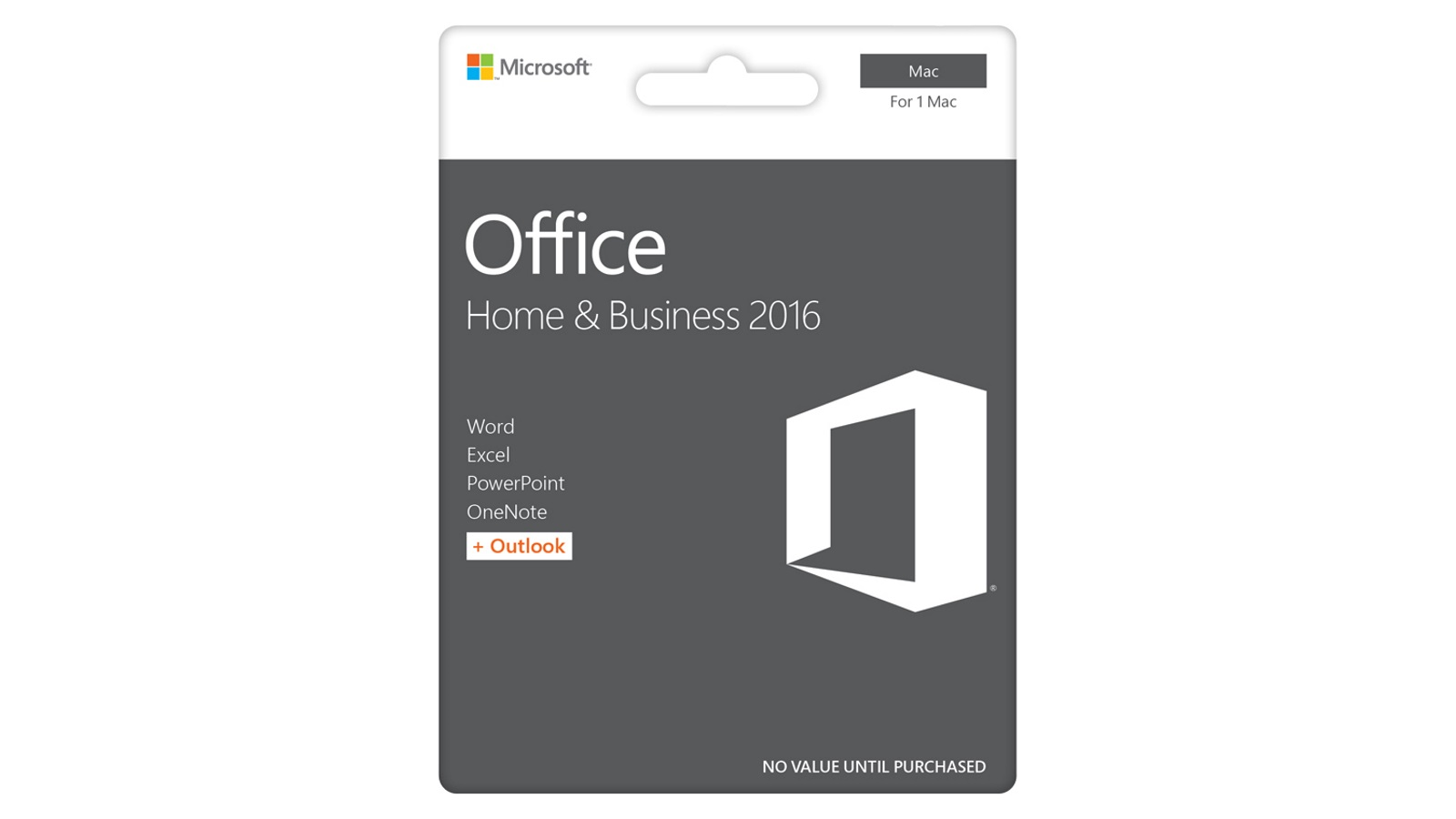 Office 2016 product logos.