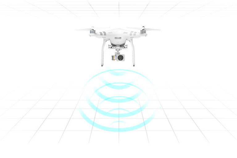 Phantom 3 Advanced Radar diagram