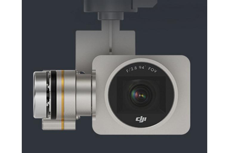 Phantom 3 Pro 3-axis gimbal and camera