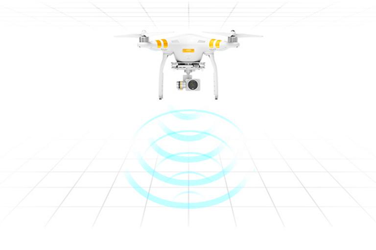 Phantom 3 Pro Radar diagram