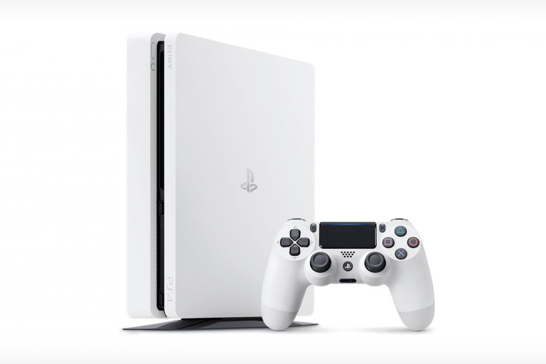 The PS4 500GB slim console