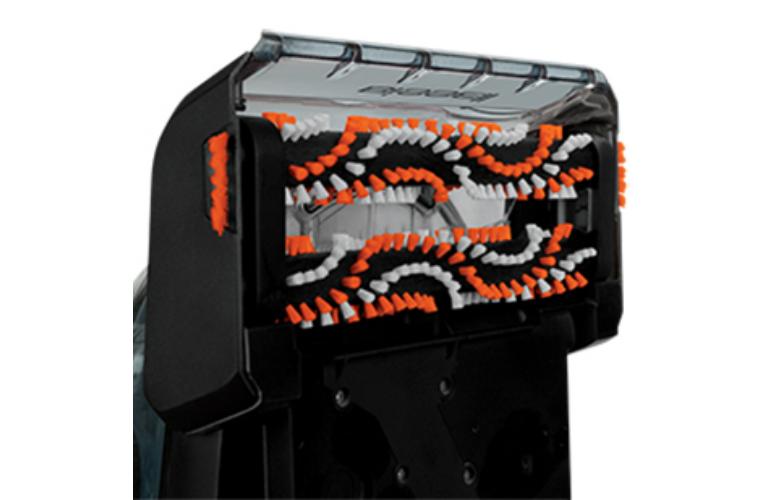 12 Dual Rotating Power Brushes