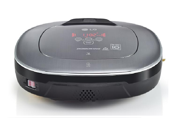 The LG Roboking Square Smart Robotic Vacuum Cleaner