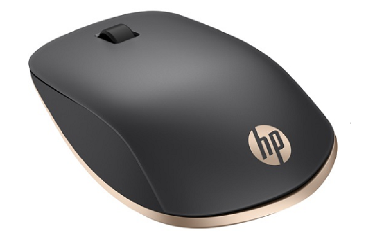 The Spectre X5000 mouse showing smooth contoured surfaces and scroll wheel