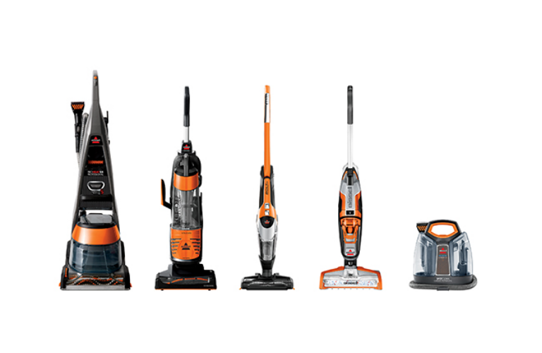 Bissell range of cleaners