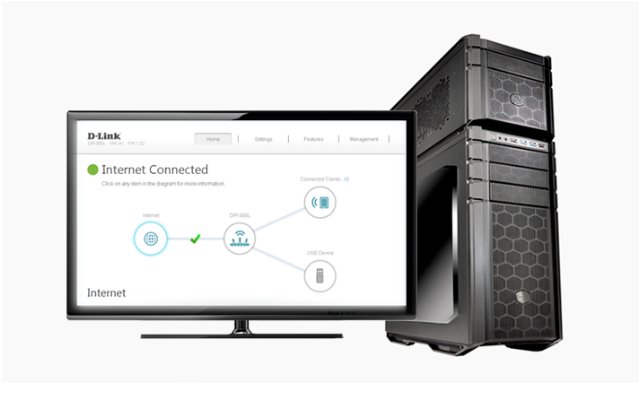 D-Link Taipan Network Control