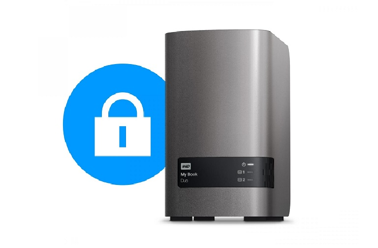 The WD desktop hard drive is secure and reliable