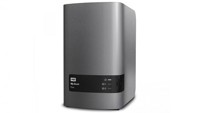 The WD My Book Duo hard drive