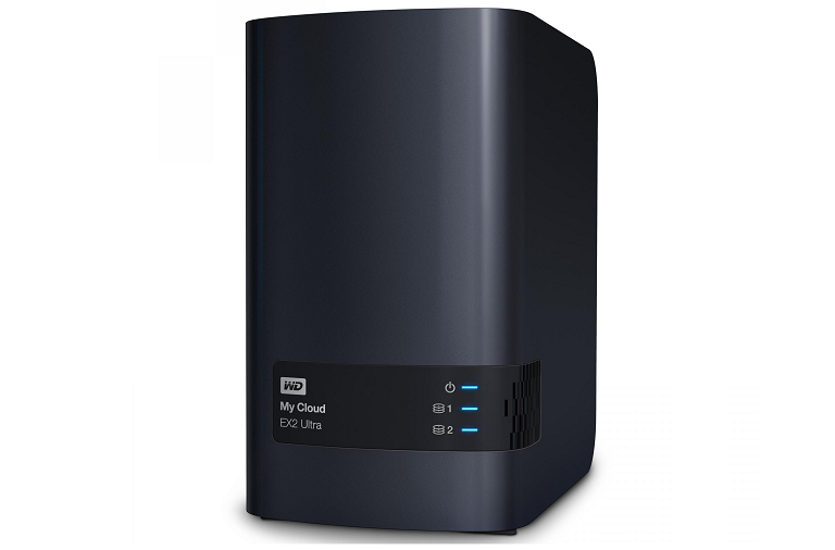 The My Cloud Ultra EX2 network hard drive from Western Digital