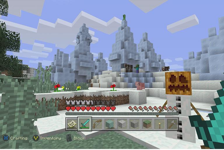 Minecraft gameplay screenshot