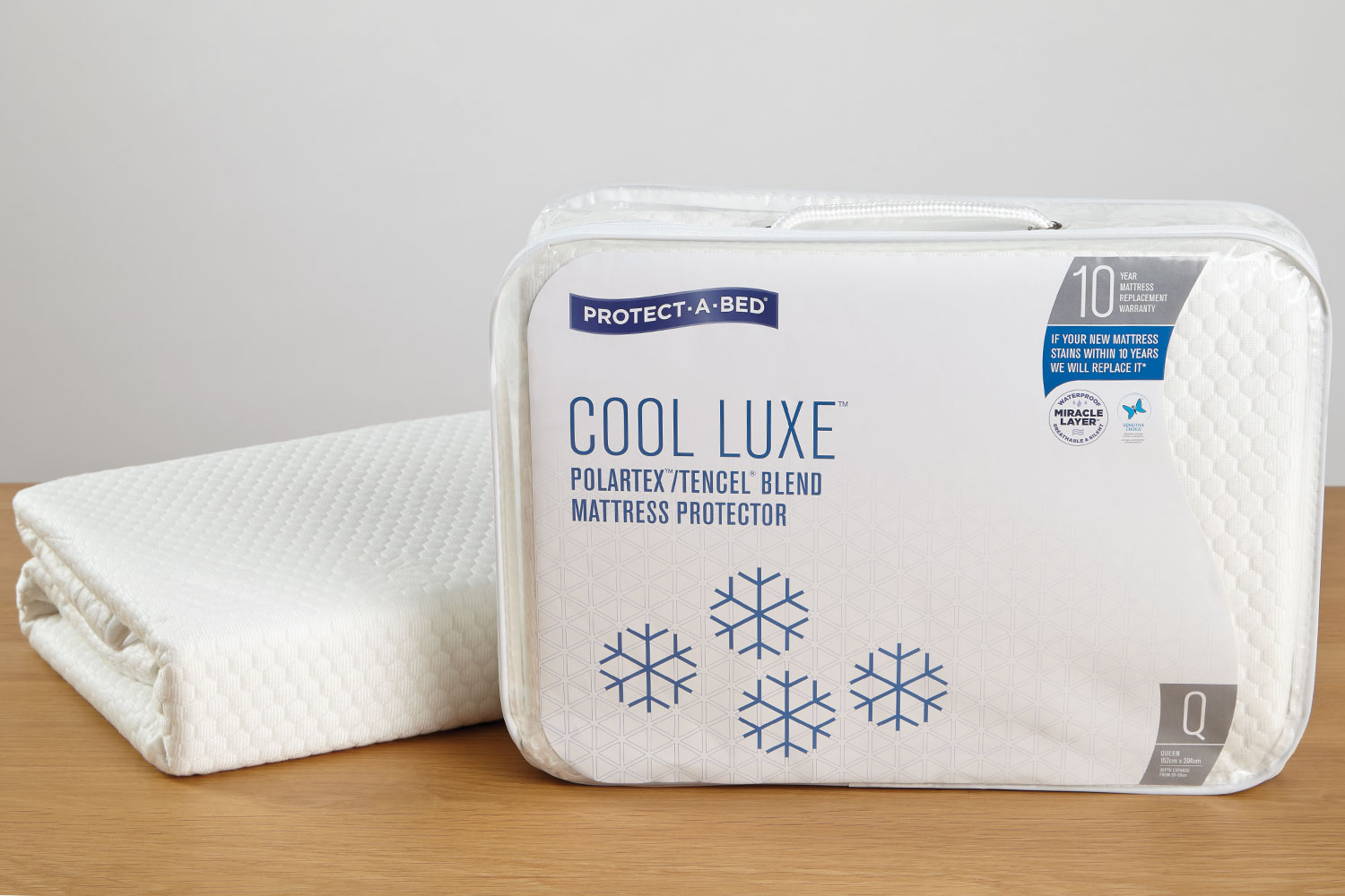 Cool Luxe Mattress Protector by Protect-A-Bed at Harvey Norman New Zealand