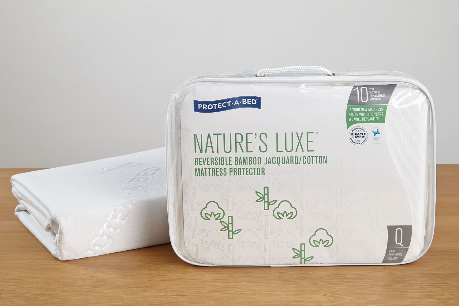 Natures Luxe Mattress Protector by Protect-A-Bed at Harvey Norman New Zealand