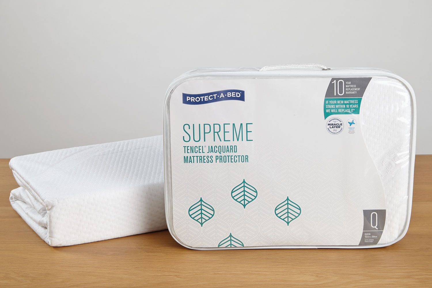 Supreme Mattress Protector by Protect-A-Bed at Harvey Norman New Zealand