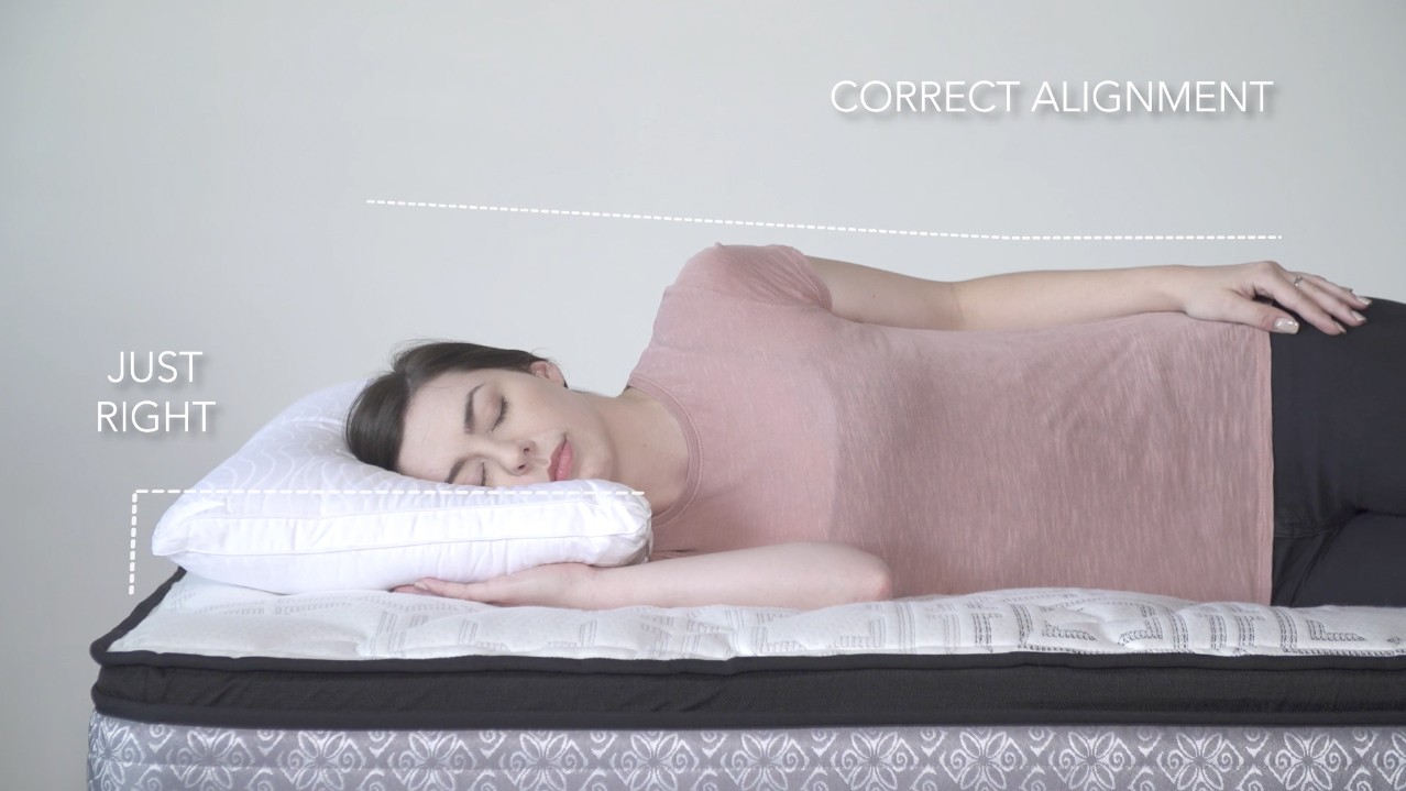 Pillow Fit video