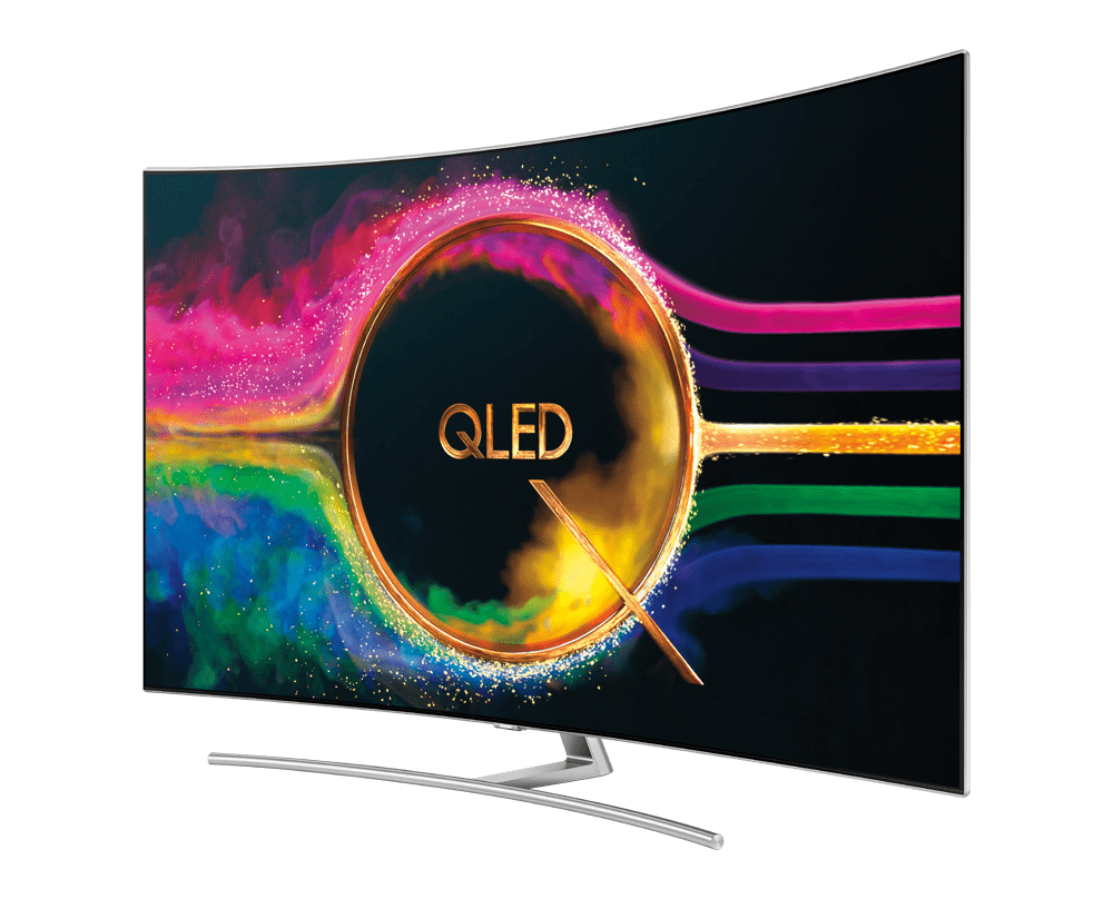Samsung 4K QLED TV at Harvey Norman